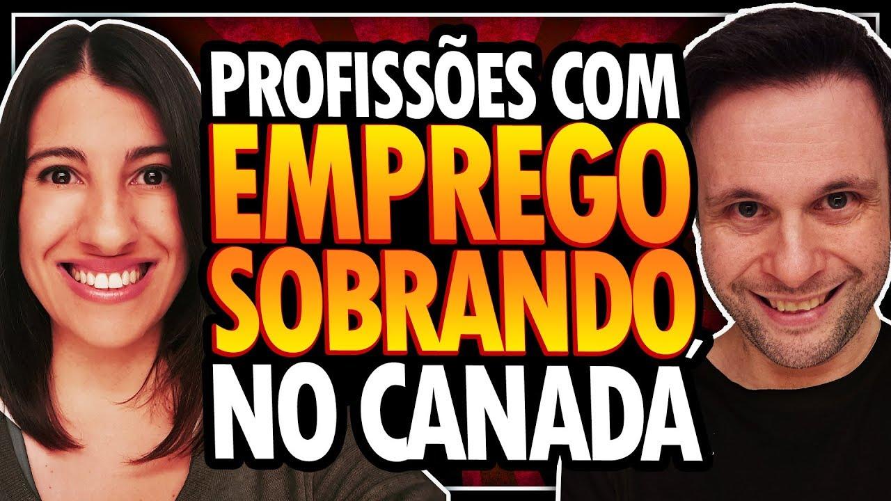 15 PROFISSÕES COM EMPREGOS SOBRANDO NO CANADÁ - TRABALHAR NO CANADÁ