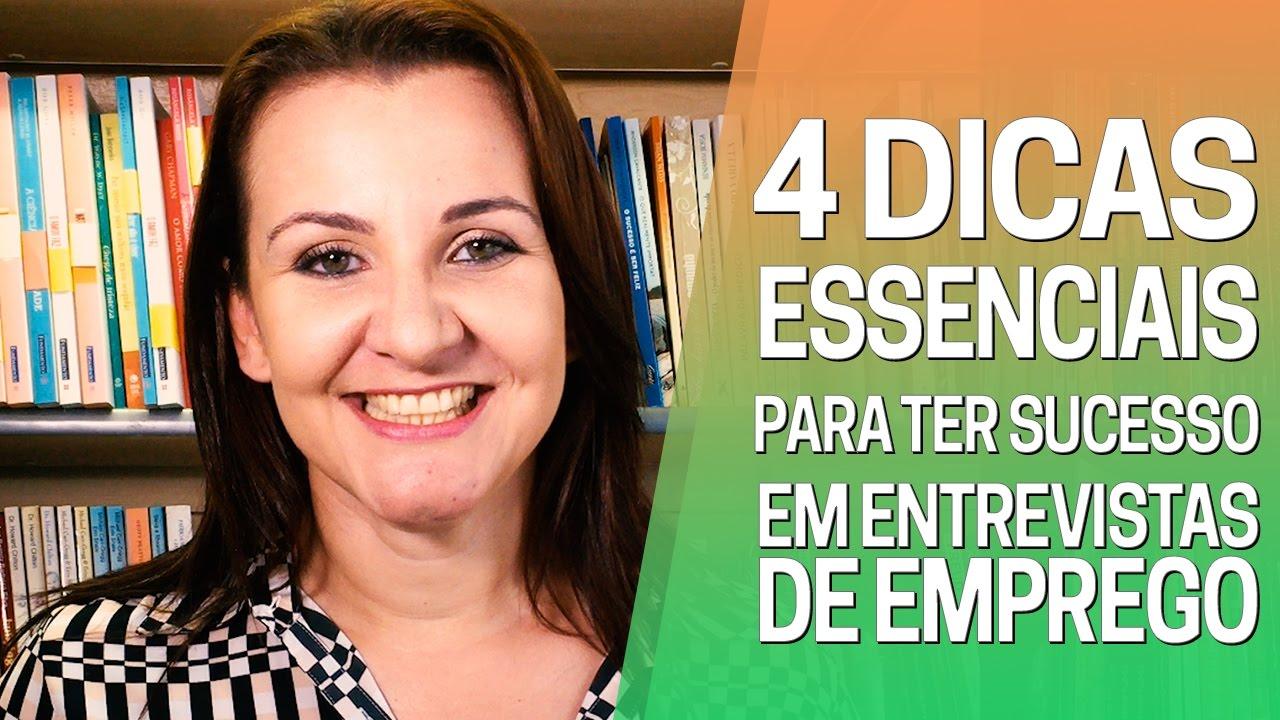 4 Dicas Essenciais Para Ter Sucesso em Entrevistas de Emprego | Coaching de Carreira