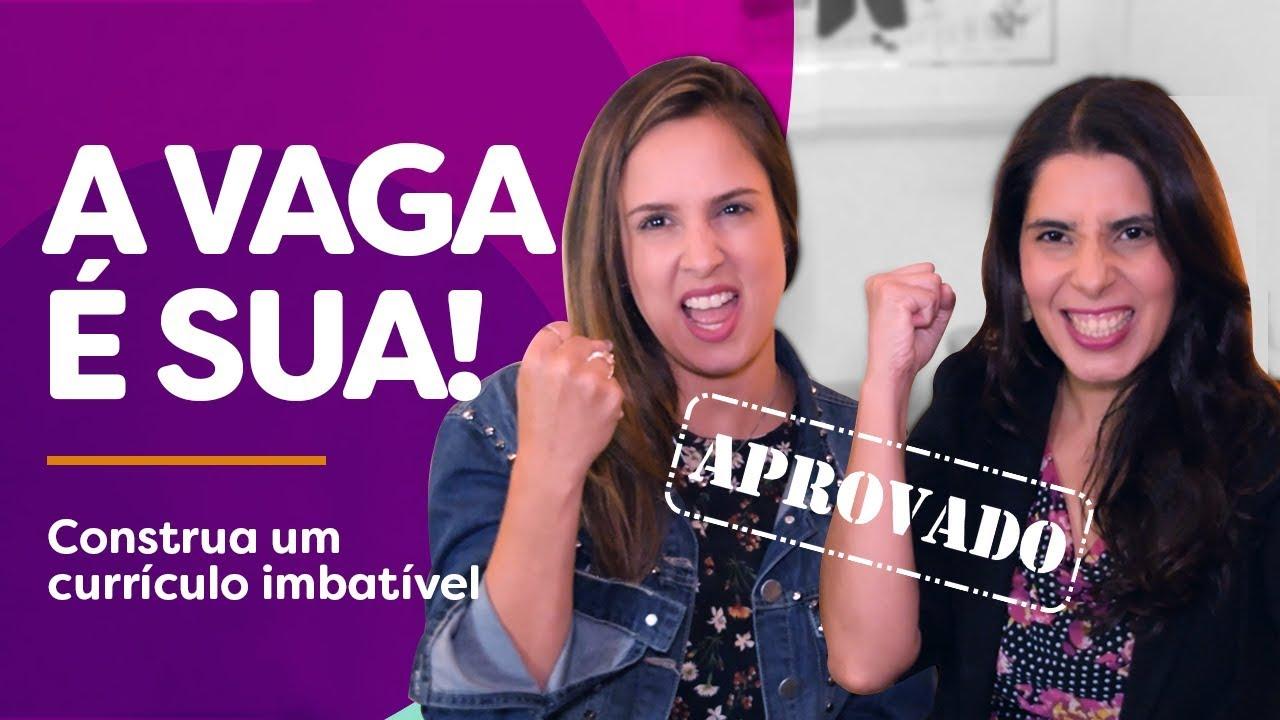 5 dicas PRÁTICAS para construir um CURRÍCULO IMBATÍVEL! Feat Adriana Cubas