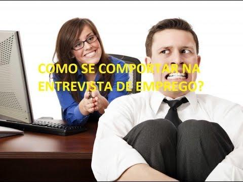 Como se comportar em uma entrevista de emprego? Dicas de OURO para você!