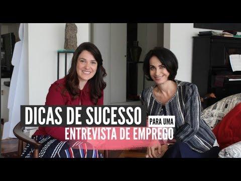 DICAS de SUCESSO para uma ENTREVISTA DE EMPREGO com Claudia Matarazzo