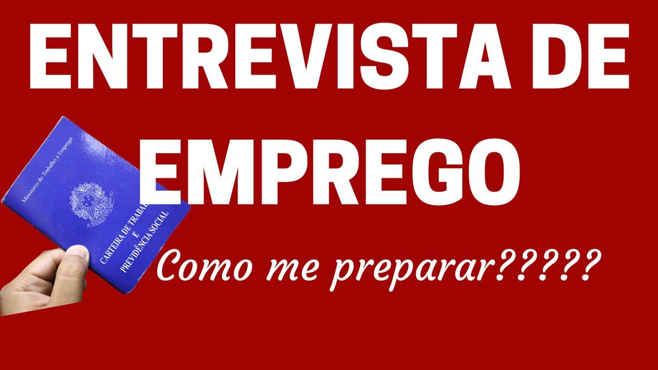 #ENTREVISTA DE EMPREGO 08 Dicas de como se PREPARAR para a tão temida ENTREVISTA DE EMPREGO