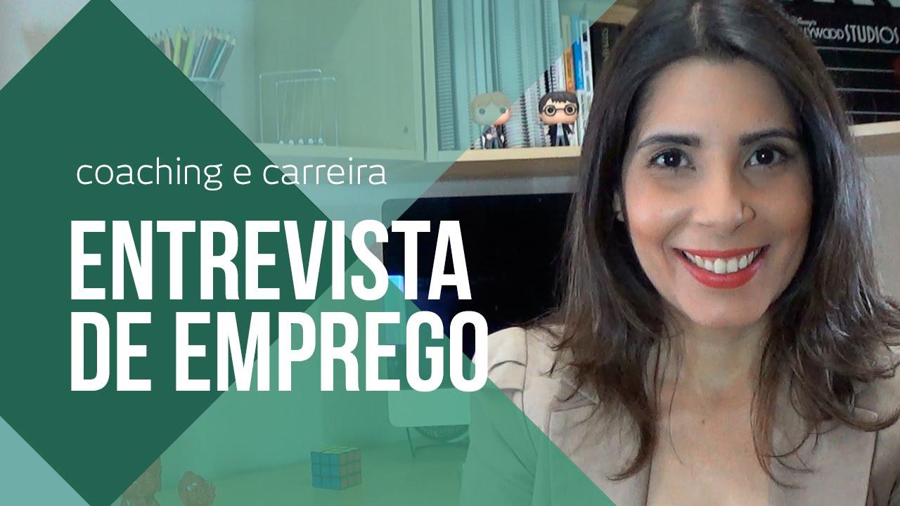 ENTREVISTA DE EMPREGO: COMO SE PREPARAR E SE SAIR BEM | CANAL DO COACHING  por Adriana Cubas