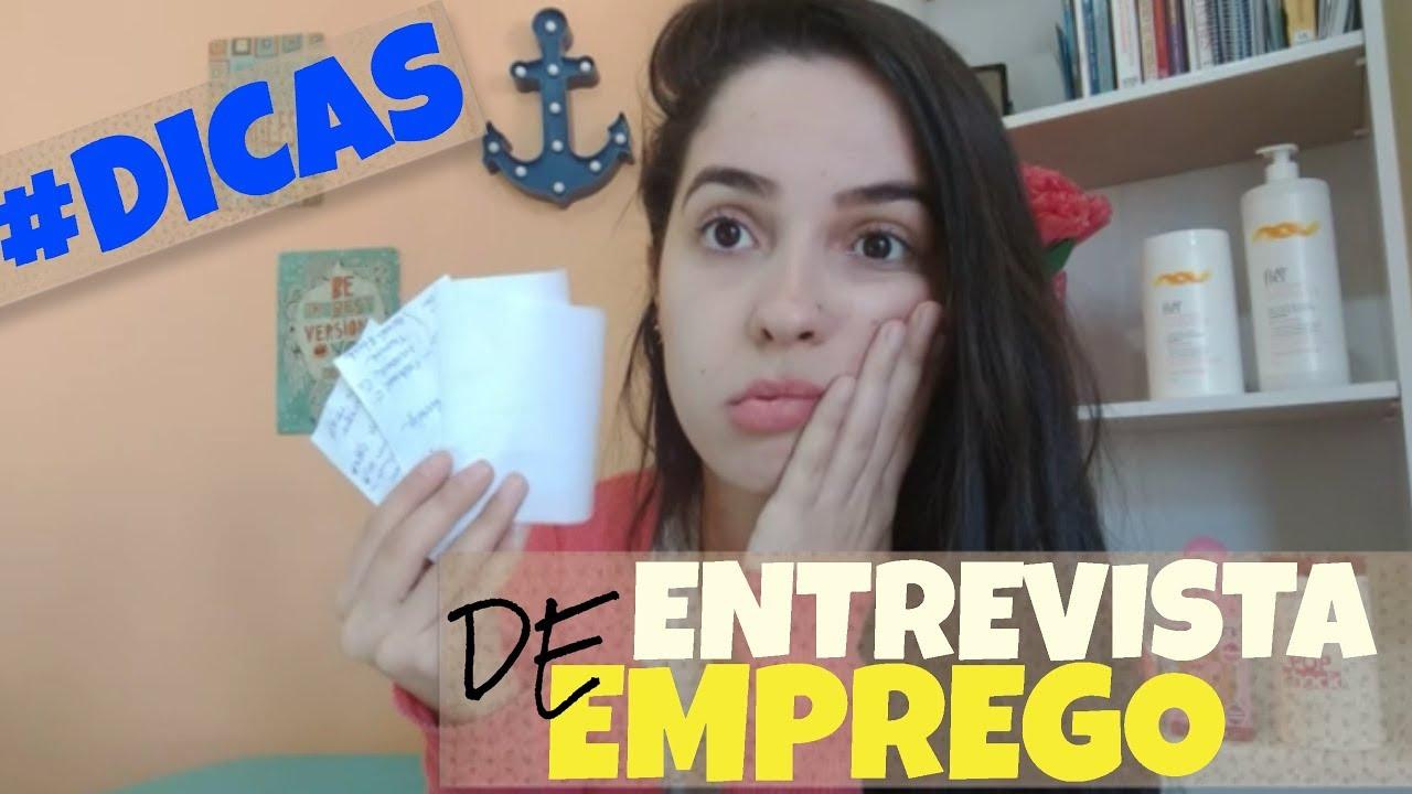 ENTREVISTA DE EMPREGO | DICAS