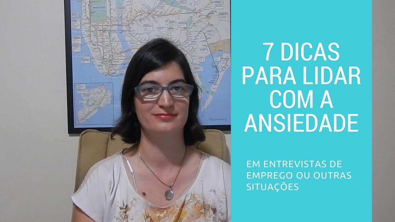 Lidando com a ansiedade em entrevistas de emprego