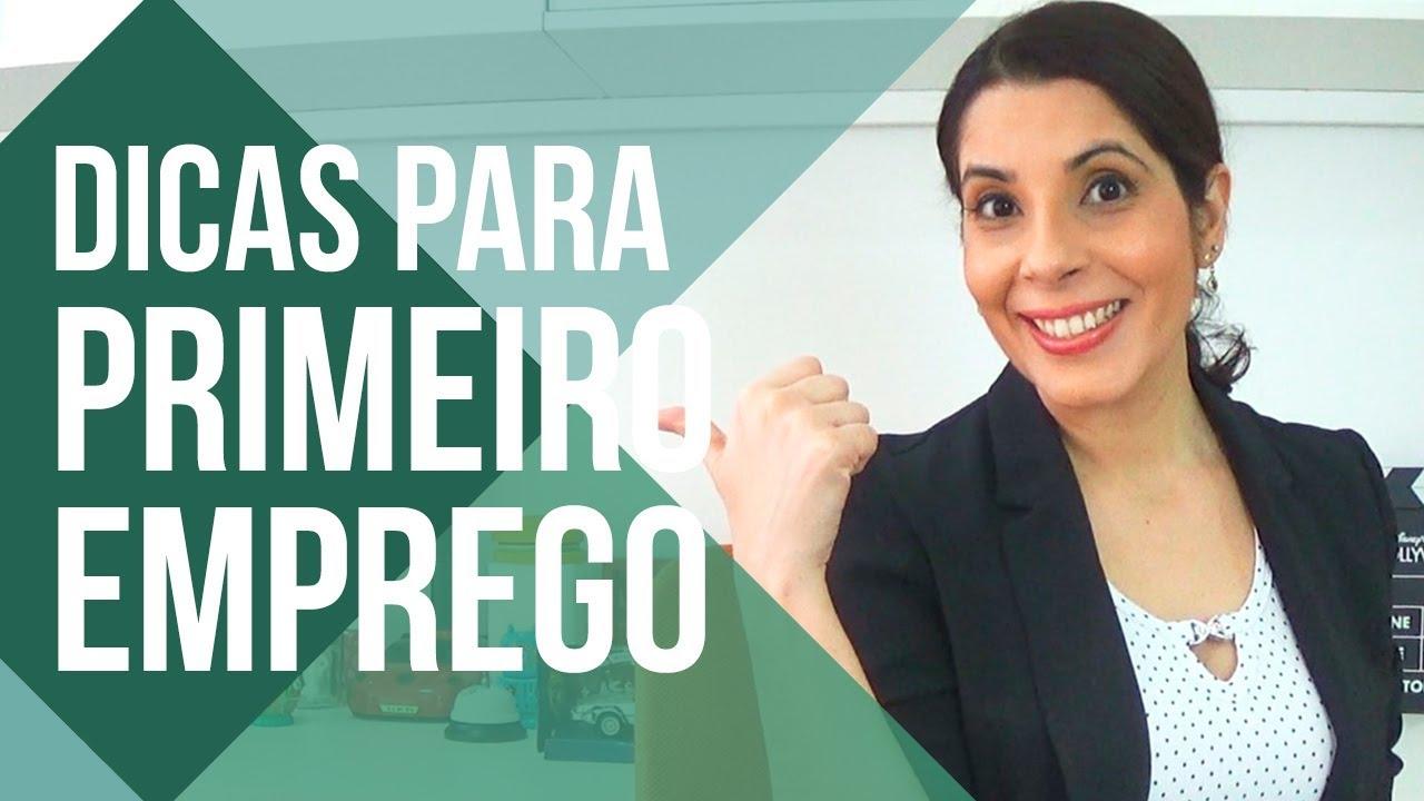 PRIMEIRO EMPREGO: 5 DICAS para você conseguir 🙋 | #primeiroemprego