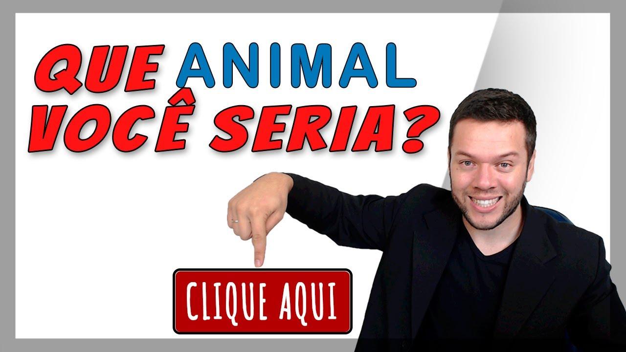 Se Você Fosse Um Animal Que Animal Seria? Pergunta Entrevista De Emprego - Cristiano Chequim