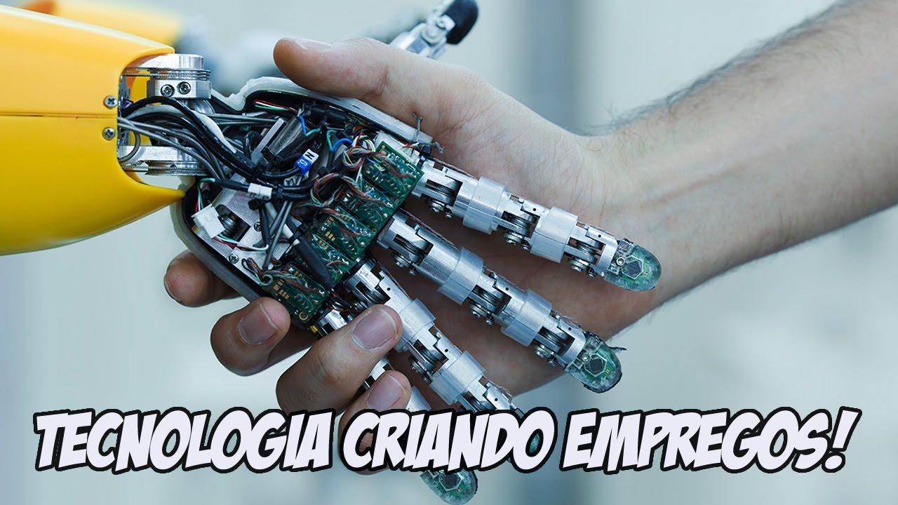 O Avanço da TECNOLOGIA acaba com os empregos dos humanos?