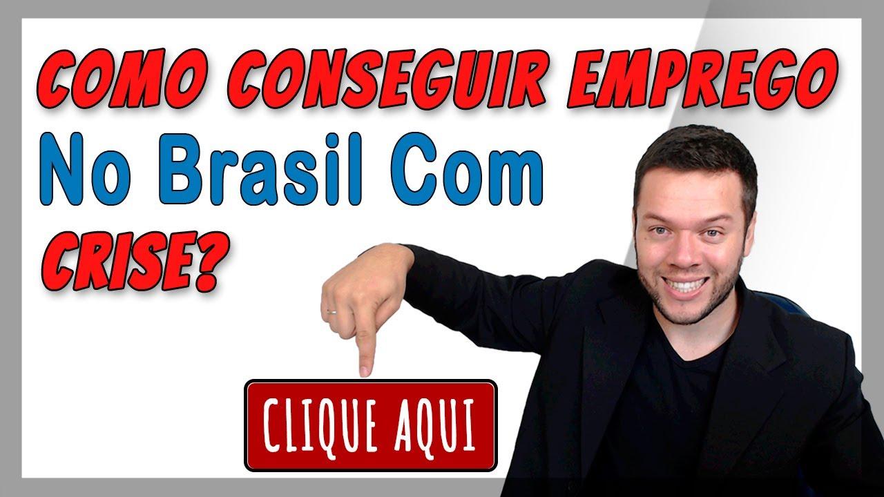 Como Conseguir Emprego No Brasil Com Crise ? Dicas Cristiano Chequim