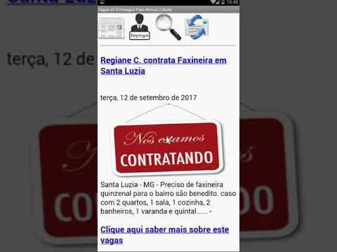Cidade de Santa Luzia MG, Noticias, vagas de Empregos, estágios, Reportagens em um único APP