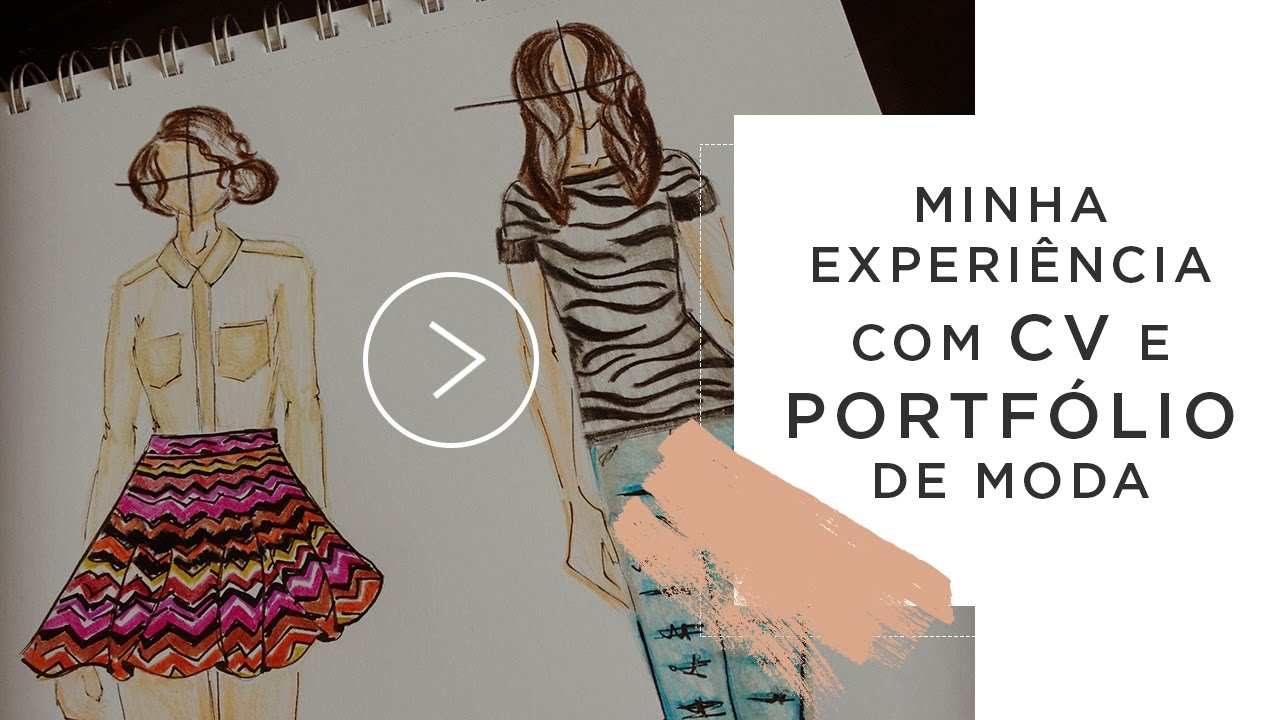 #dúvida do leitor: Currículo e Portfólio de moda