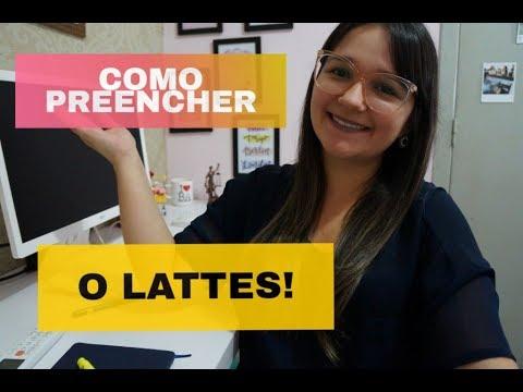 COMO PREENCHER O CURRÍCULO LATTES!