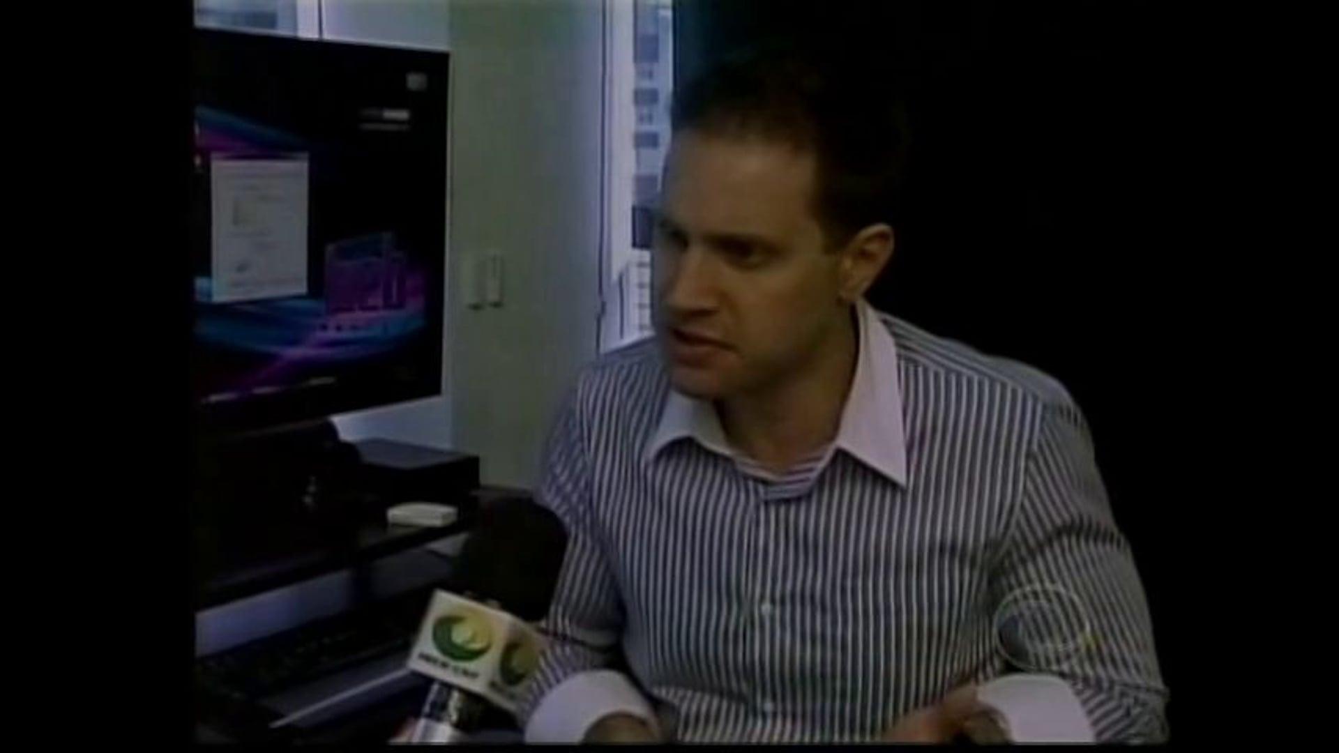 Antonio Borba fala sobre vagas de emprego nas redes sociais ao CNT Jornal - 12/11/2012