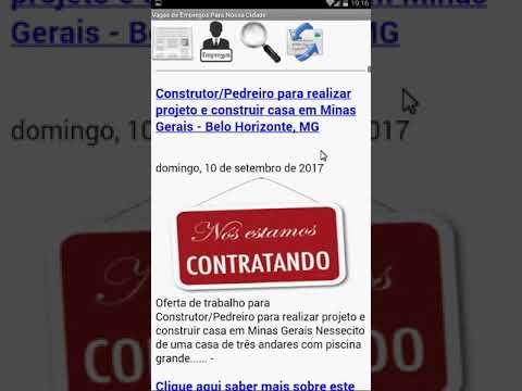Cidade de Contagem, Noticias, vagas de empregos, APP, Android, Gratuitos