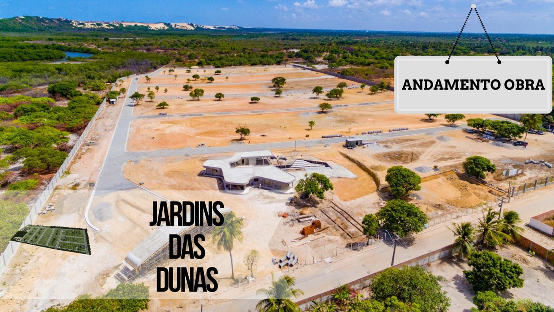 LOTEAMENTO JARDINS DAS DUNAS - ANDAMENTO OBRA - DEZ16