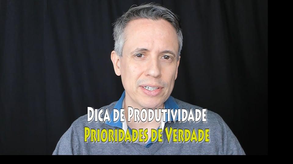e Produtividade: como priorizar atividades de verdade!