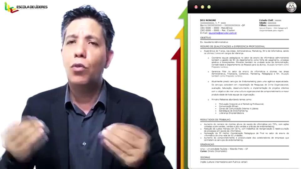 DIFERENCIAL DE SEU CURRÍCULO - Estrutura e Aparência !!!