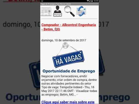 Cidade de Betim, APP Android , notícias, vagas de empregos, gratuitas