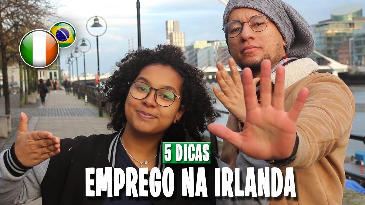 5 DICAS INFALÍVEIS PARA CONSEGUIR UM EMPREGO NA IRLANDA (Intercâmbio na Irlanda)