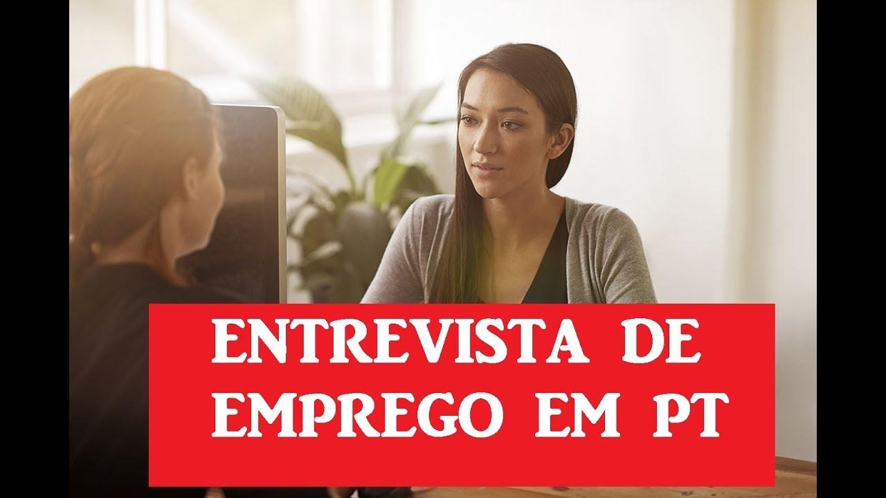 ENTREVISTA DE EMPREGO EM PORTUGAL