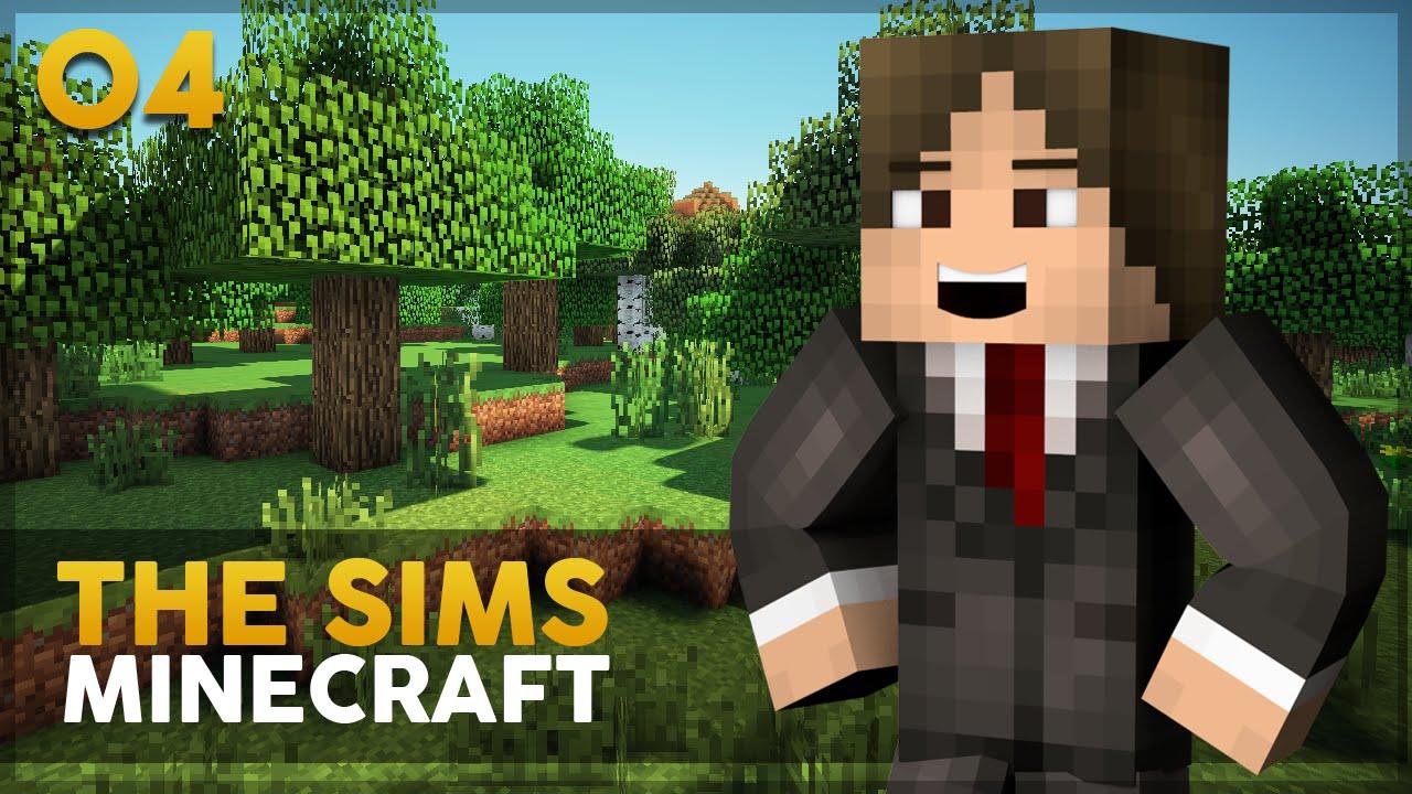 Minecraft The Sims #4: Procurando um emprego!