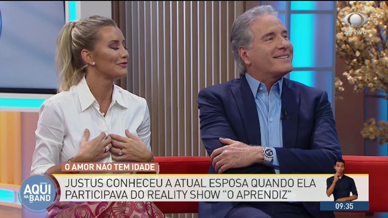 Roberto Justus e Ana Paula Siebert contam como se conheceram