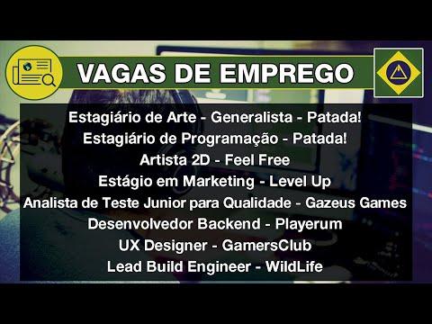 Vagas de Emprego • Indústria Brasileira de Games • 3ª Semana de Janeiro 2020