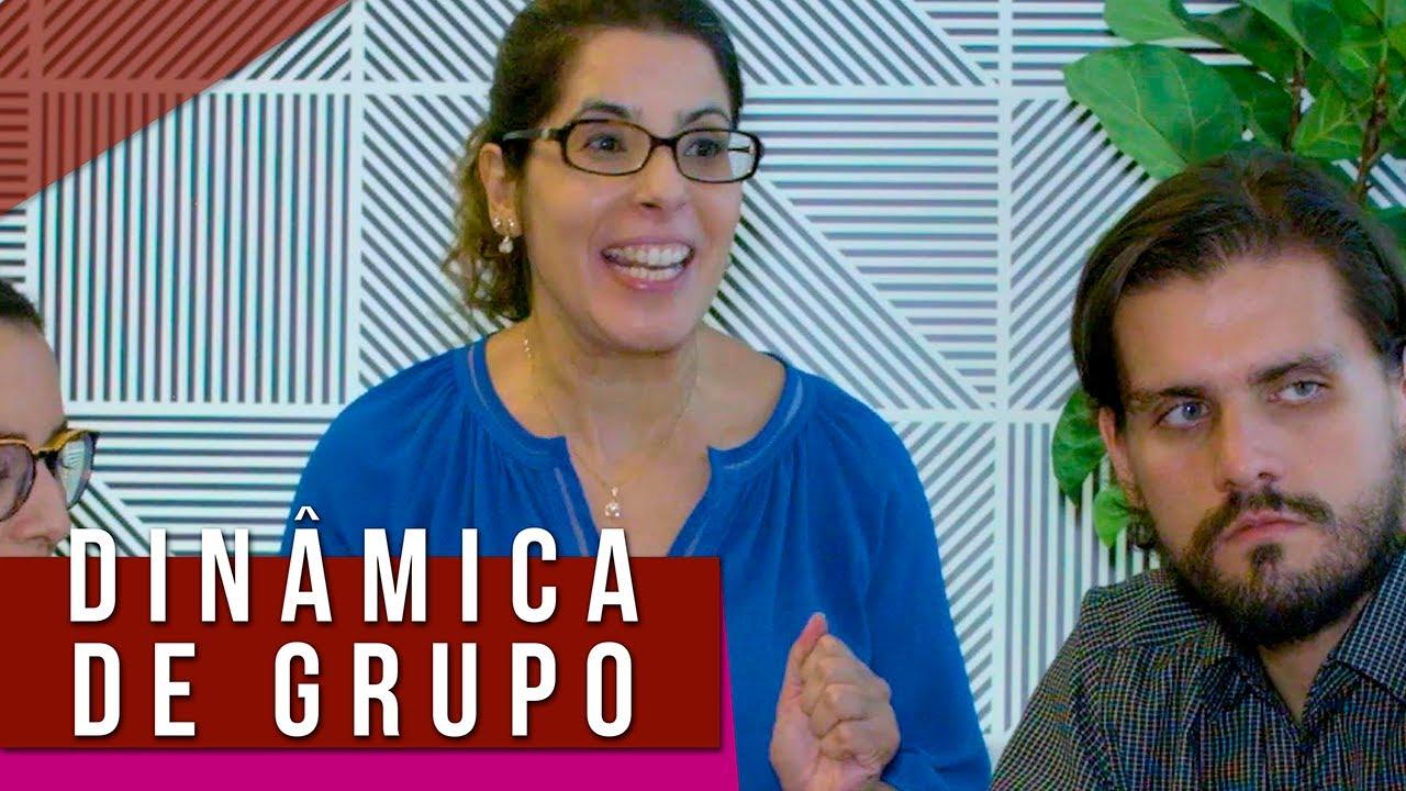 DINÂMICA DE GRUPO - Tipos de pessoas na dinâmica, processo seletivo e recolocação profissional 😱