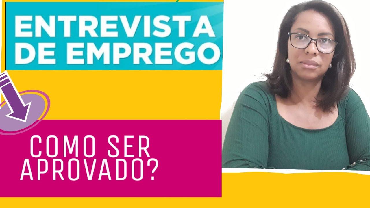 ENTREVISTA DE EMPREGO; #10DICAS PARA SER APROVADO
