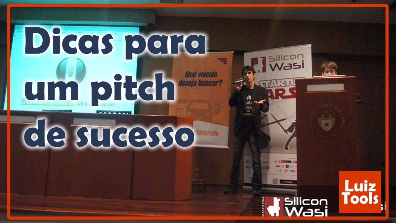 Dicas para um pitch de sucesso
