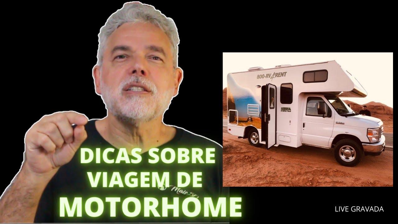 DICAS SOBRE VIAGEM DE MOTORHOME