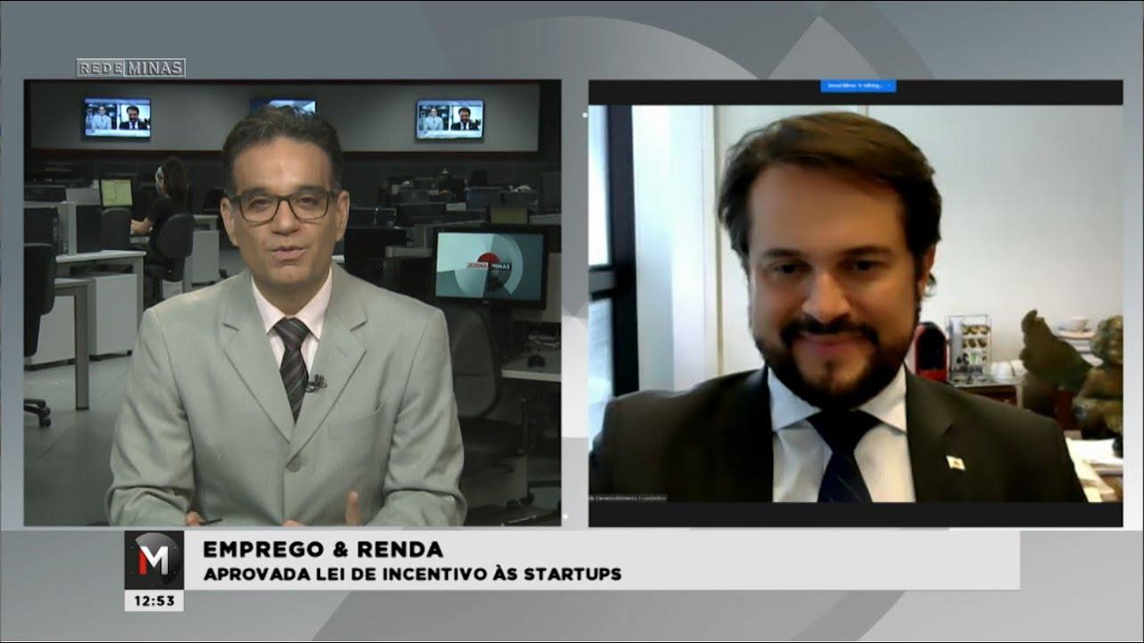 EMPREGO & RENDA: APROVADA LEI DE INCETIVO ÀS STARTUPS - Jornal Minas