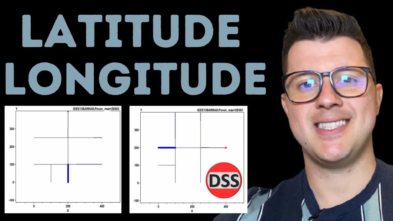 Dicas OpenDSS | Coordenadas em Latitude e Longitude