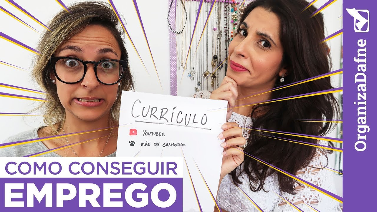 5 DICAS PARA CONSEGUIR EMPREGO E ORGANIZAR A CARREIRA (com Adriana Cubas) | Organiza Dafne