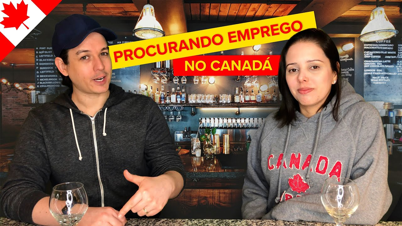 FORMAS DE PROCURAR EMPREGO NO CANADÁ - NOSSAS EXPERIÊNCIAS -  🍻 PUB RUMO CERTO