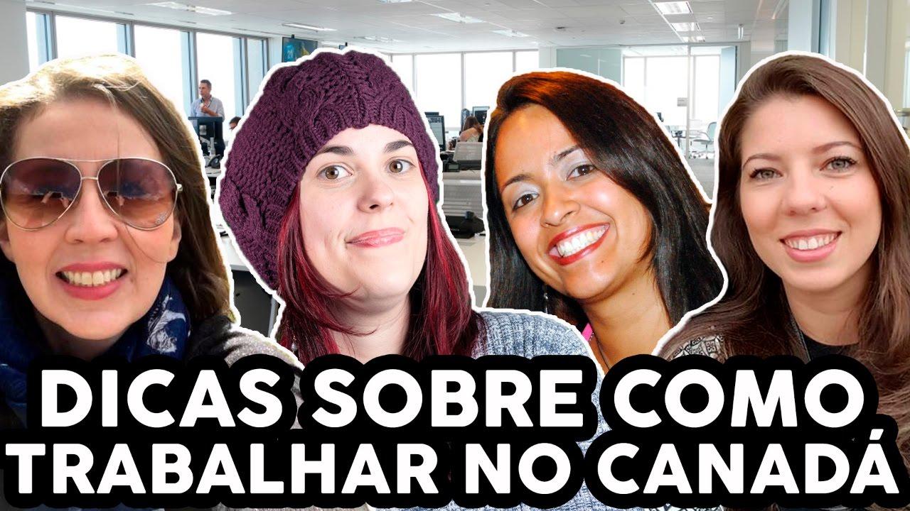 DICAS SOBRE EMPREGO NO CANADÁ + ÁREA DE RH