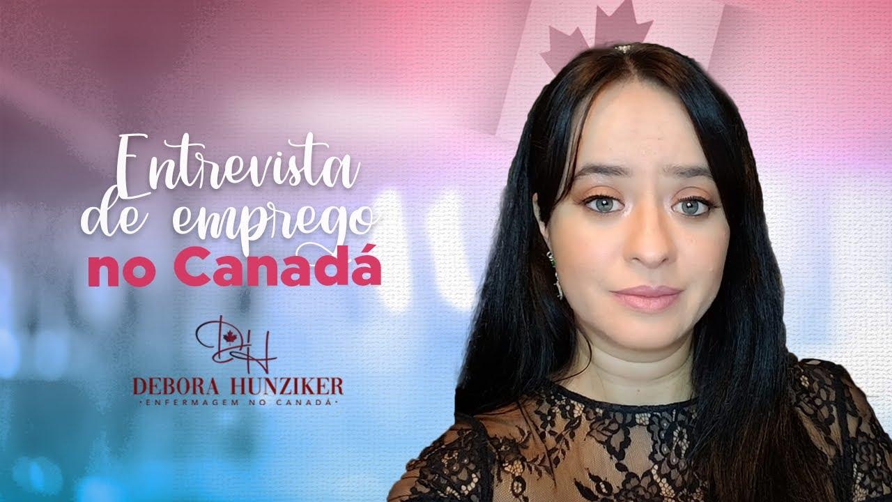 Entrevista de emprego na área da enfermagem no Canadá